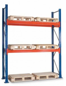pallet racking one bay