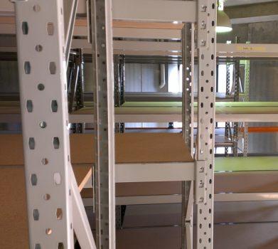 longspan shelving install