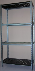 slotted angle coolroom shelving