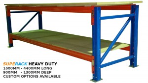 superack heavy duty workbench