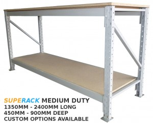 superack medium duty workbench