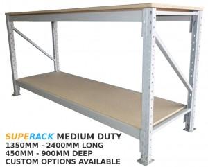 superack medium duty workbench