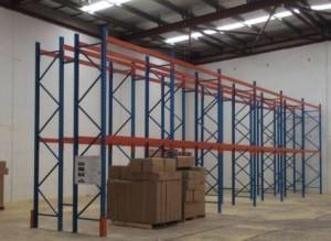 pallet racking installation image