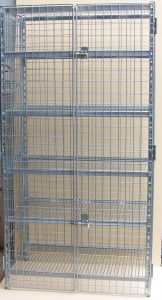 secure coolroom shelving